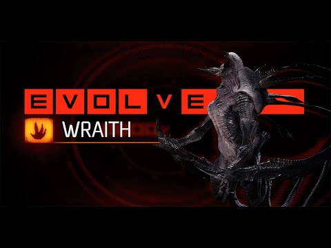 """Evolve Wraith Pro Multiplayer Online Gameplay PC """"Get Over Here Build"""""""