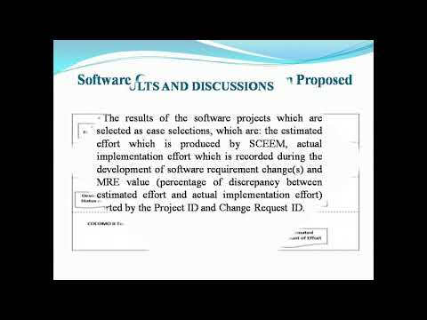 A Novel Effort Estimation Model for Software Requirement Changes During Software Development Phase