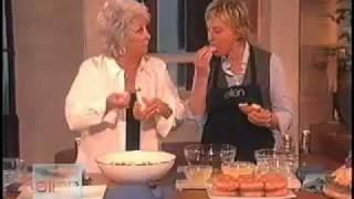 Ellen DeGeneres Cooking