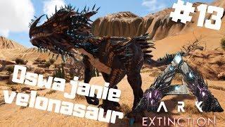 ARK Extinction PL #13 - Oswajanie Velonasaur - Strzelający Dino   Ark: Survival Evolved