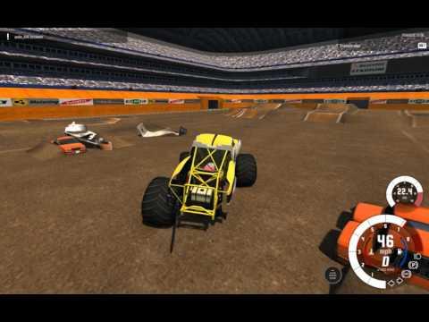 BeamNG.Drive monster jam: Custom line-up, plus bonus runs
