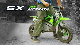 Mini Bike electric Razor SX350 Dirt Rocket - GR McGrath