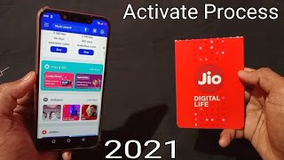 How To Activate Jio Sim Card 2021    JIO SIM CARD ACTIVATION