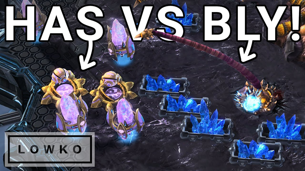 Download StarCraft 2: Has LOVES to CANNON RUSH! (Best-of-3 vs Bly)