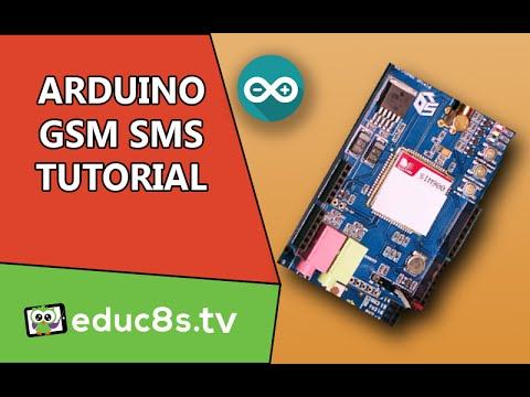 Arduino Tutorial: GSM/GPRS SHIELD (SIM900) SMS Send and Receive Tutorial on Arduino Uno