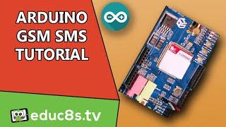 Arduino Tutorial: GSM/GPRS SHIELD (SIM900) SMS Send and Receive Tutorial on Arduino Uno Video