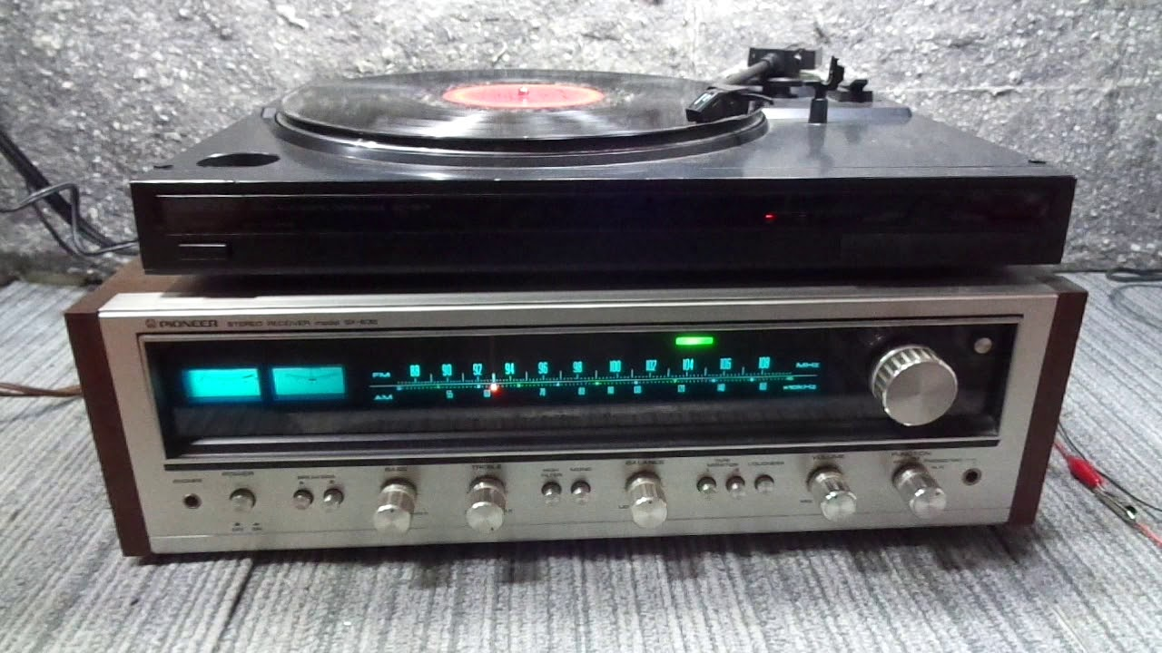 DEMO of VINTAGE PIONEER SX-636 STEREO RECEIVER FOR SALE