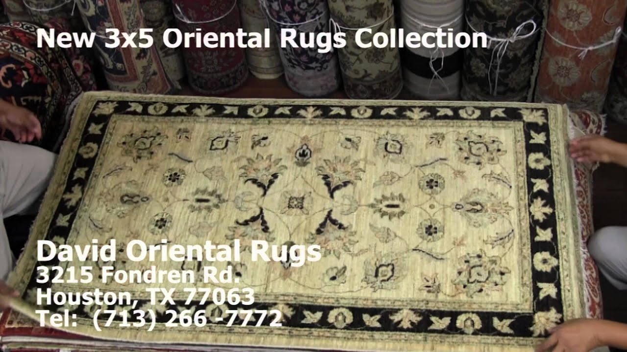 David Oriental Rugs Houston New 3x5