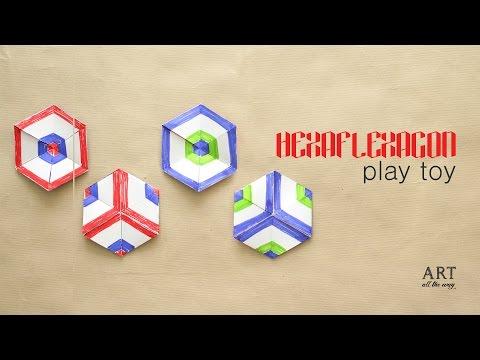 DIY Paper Toy : Hexaflexagon