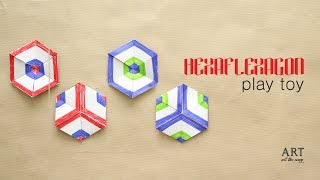 DIY Paper Toy : Hexaflexagon