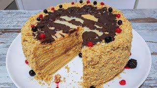 медовый Торт Кутузов. Старинный Рецепт МЕДОВИКА . Как приготовить медовый торт.