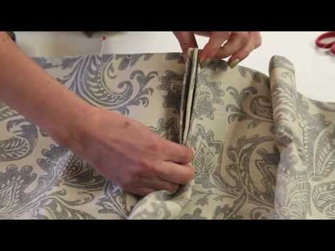 FILMS FOR WEBSITES - HOW TO MAKE FRENCH PLEATS FOR CURTAINS