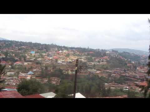 Panorama if Kigali, capital of Rwanda
