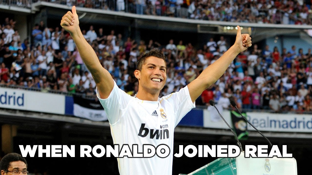 When Ronaldo Joined Real Madrid Youtube