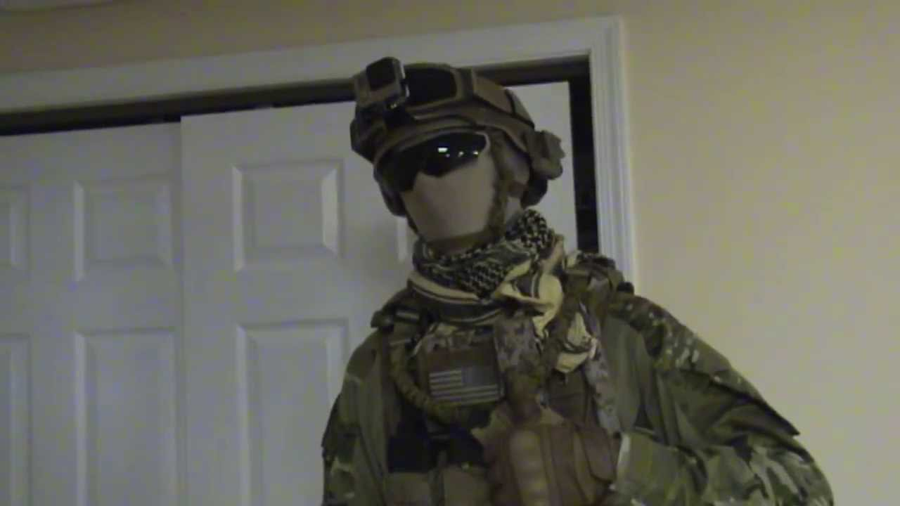 Crye Multicam Airsoft Loadout: CN02 CNATNJ - YouTube