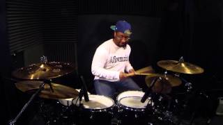 "Jared ""Flow"" Young - Where Them Girls At - David Guetta - Drum Cover"