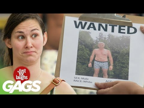 Victims Tricked Into Looking For Streaker