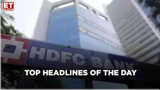 India to host conference on Afghan |HDFC bank likely to see jump in profit | Top Headlines