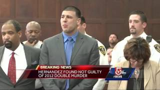 Aaron Hernandez not guilty in double murder trial