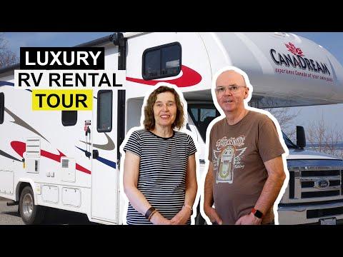 Motorhome Tour Inside Our RV Camper Van 2019