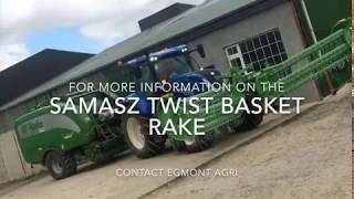 A novel way of raking and baling silage in a single pass...in Ireland!