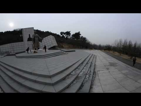 Nikon Keymission 360 trip - Suwon Hwaseong Park, Statue of King Jeongjo Visit Video 1