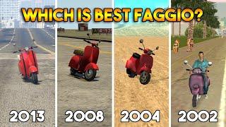 GTA : FAGGIO IN EVERY GTA (GTA 5, 4, SAN ANDREAS, VICE CITY)