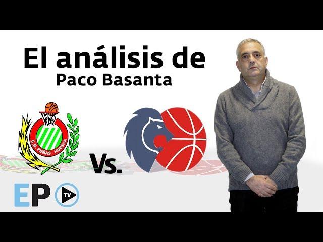 Paco Basanta analiza el partido entre el Huesca y el Breogán