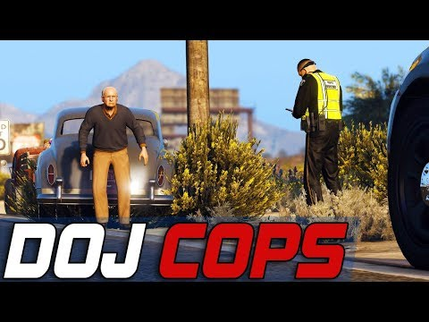 Dept. of Justice Cops #763 - Ronny's Rough Day