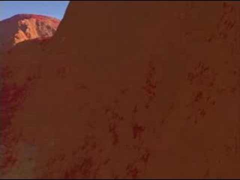 Golden Mountains Terragen Animation