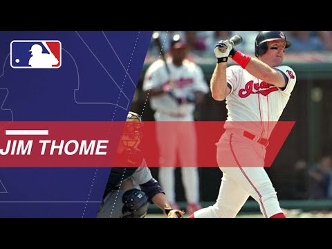 Jim Thome hit an MLB record 13 walk-off homers