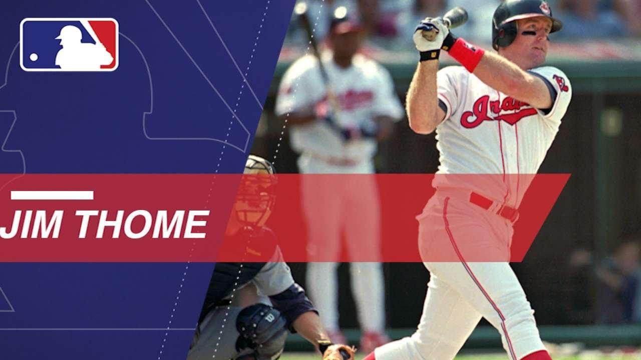 Jim Thome hit an MLB record 13 walk-off homers - YouTube