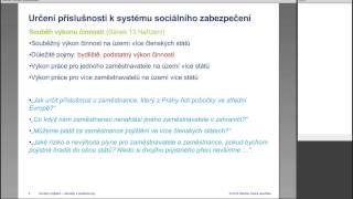 Sociální pojištění - aktuality a praktické tipy