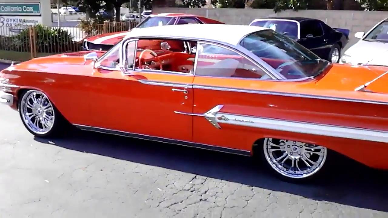 Impala 1960 chevrolet impala ss : 1960 CHEVROLET IMPALA - SOLD - YouTube