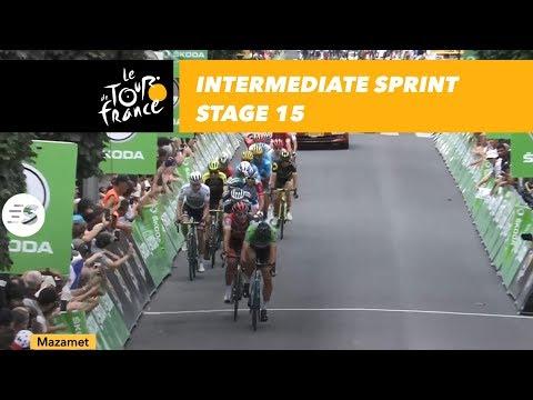 Intermediate sprint - Stage 15 - Tour de France 2018