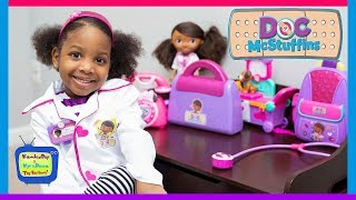 Doc Mcstuffins to the Rescue | Kyraboo Playing Animal Hospital