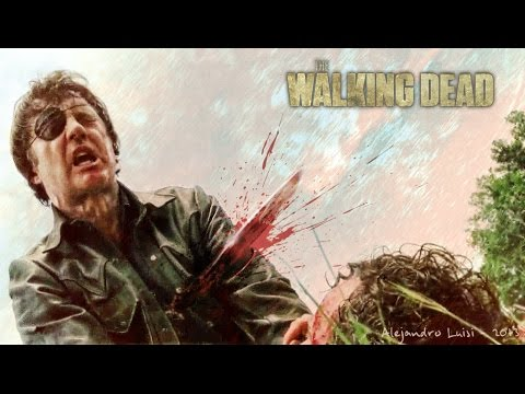 The Walking Dead 4x6, The Governor's theme - The Last Pale Light In The West 1 HOUR