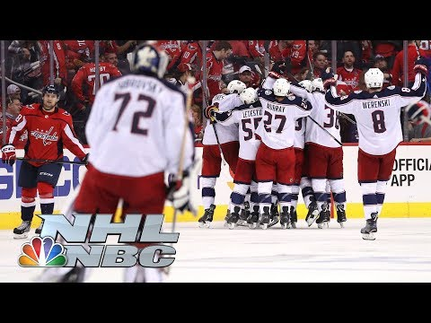 Columbus Blue Jackets vs. Washington Capitals I Game 2 I NHL Stanley Cup Playoffs I NBC Sports