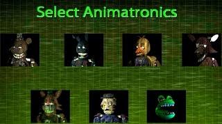 The Return To Freddy S 3 Simulator All Animatronics