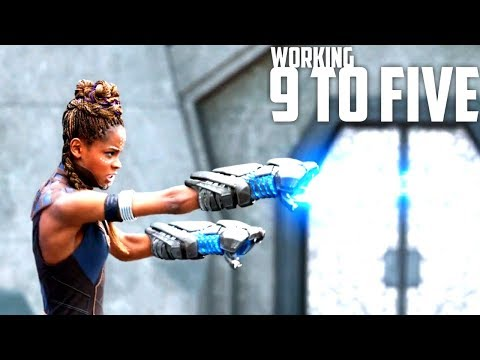 Working 9 to Five - Marvel Cinematic Universe