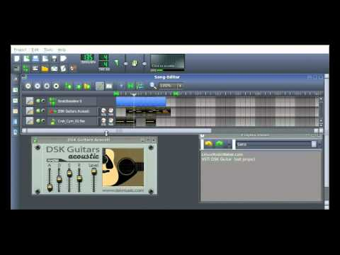 Free VSTi Acoustic Guitar Work With LMMS Linux