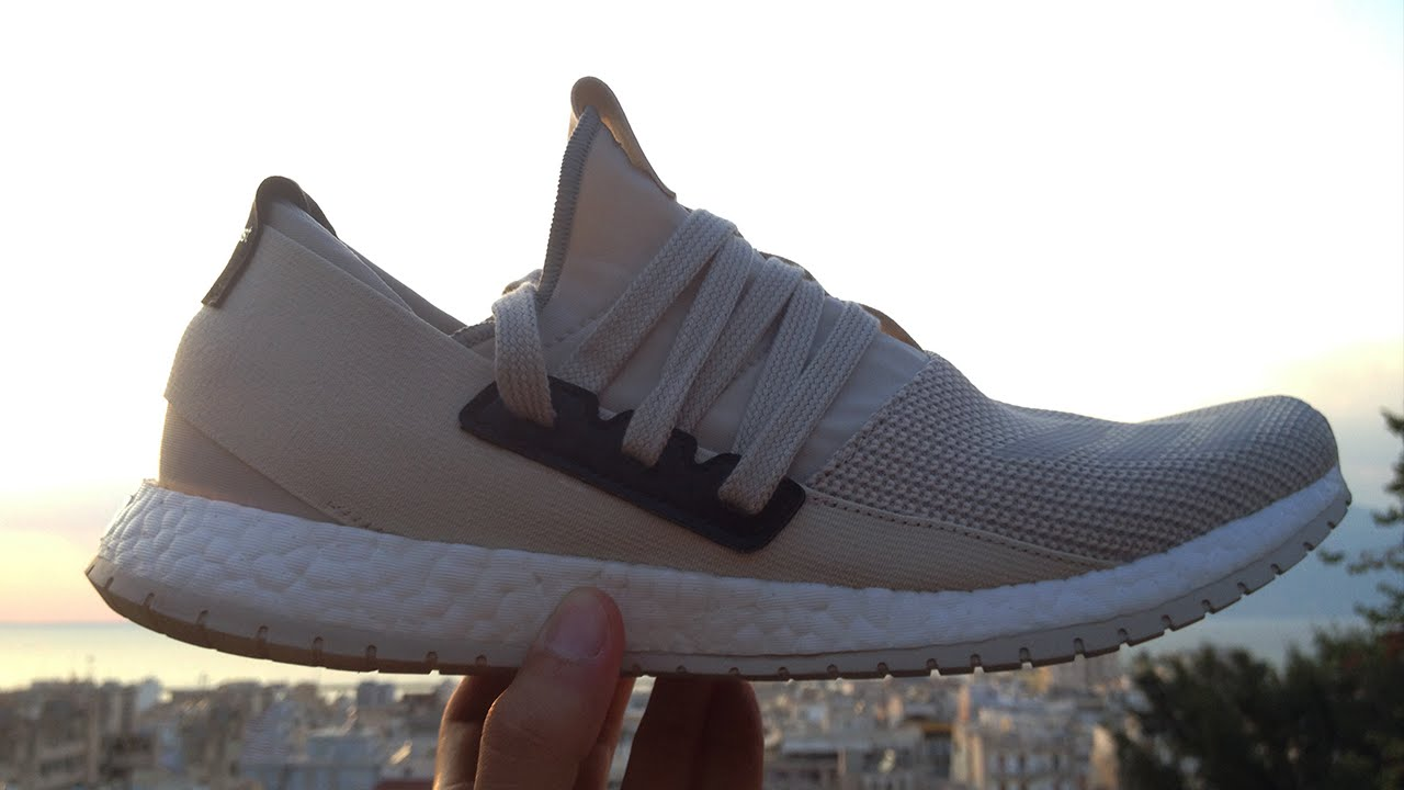 get cheap 034a4 ad30a Adidas Pure Boost R REVIEW  On Feet - YouTube