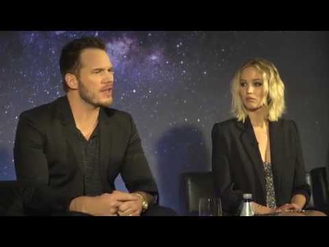LIVE with Passengers' Chris Pratt, Jennifer Lawrence and Michael Sheen