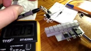 видео Соединение солнечных модулей в батарею