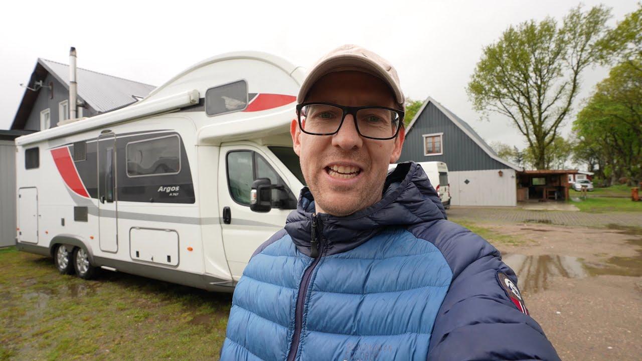 Mit dem Wohnmobil nach Sylt - Zwischenübernachtung in