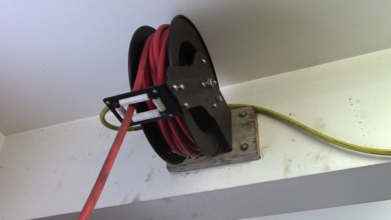 Harbor Freight Hose Reel Great Or Garbage Youtube