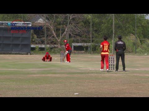 ICC Women's Qualifier - Asia 2019 | Hong Kong v China highlights