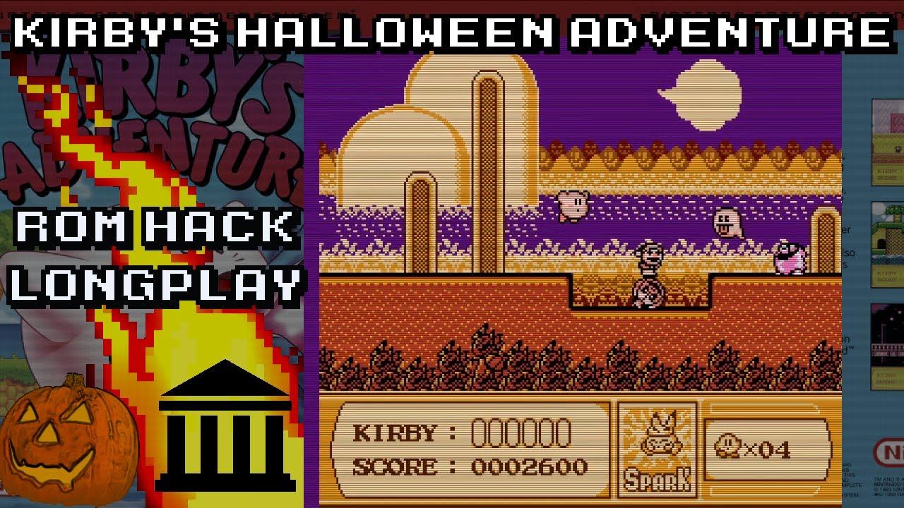 Kirby S Halloween Adventure Rom Hack Play Through Youtube