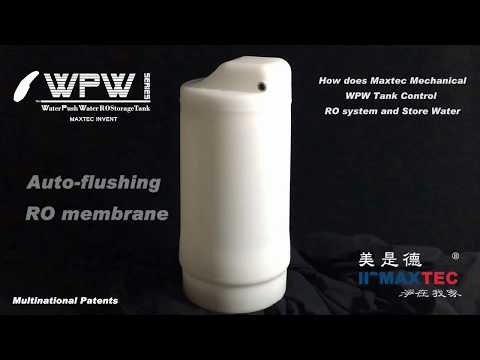 Maxtec WPW Tank Transforms to a Low pressure WOW RO System