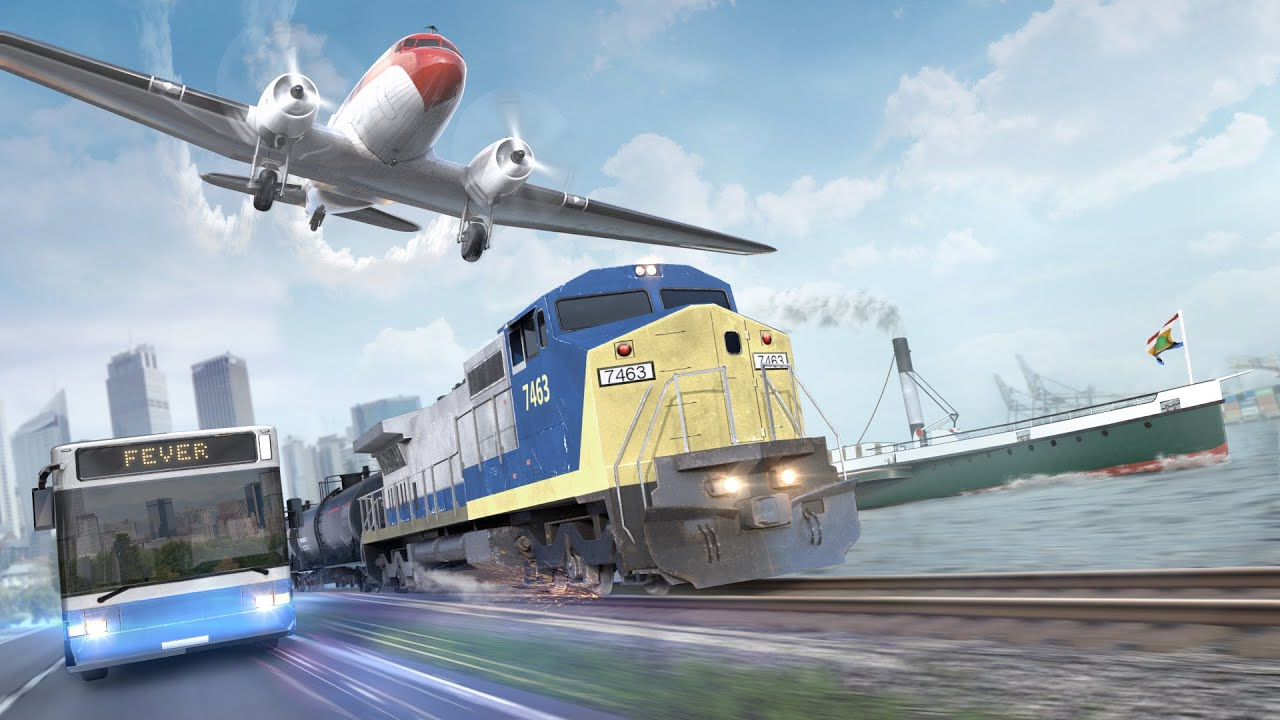 Buy Transport Fever from the Humble Store